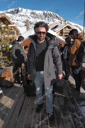 Nicolas Benamou attending the first day of the 23rd L'Alpe D'Huez International Comedy Film Festival