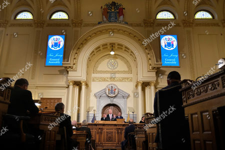 Editorial picture of State of the State New Jersey, Trenton, USA - 14 Jan 2020