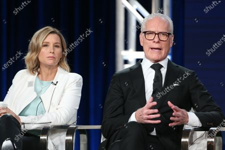 Sara Rea and Tim Gunn