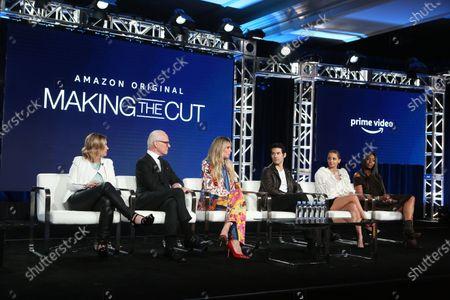 Stock Photo of Sara Rea, Tim Gunn, Heidi Klum, Joseph Altuzarra, Nicole Richie and Naomi Campbell