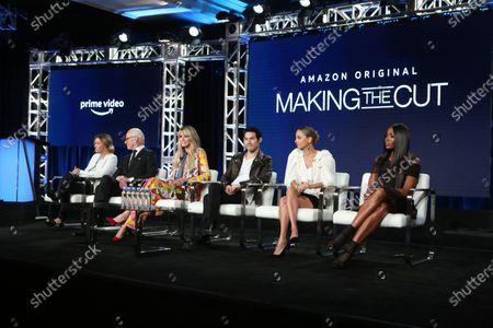 Sara Rea, Tim Gunn, Heidi Klum, Joseph Altuzarra, Nicole Richie and Naomi Campbell