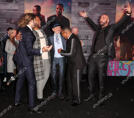 Adil El Arbi, Will Smith, Joe Pantoliano, Martin Lawrence and Bilall Fallah