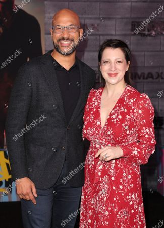 Keegan-Michael Key and Elisa Key