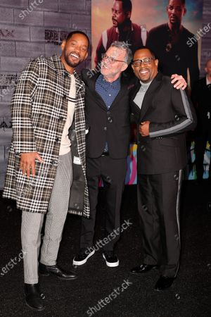 Will Smith, Chad Oman and Martin Lawrence