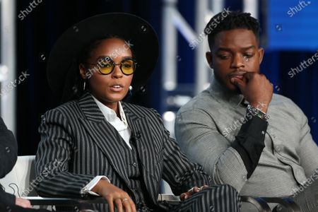 Janelle Monae and Stephan James