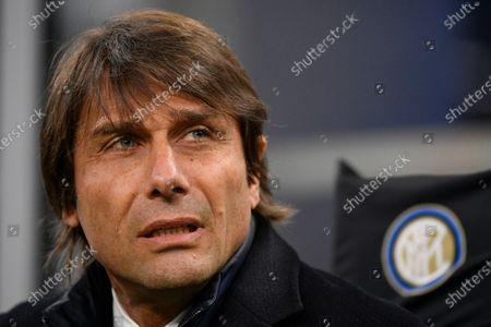 Editorial picture of Inter Milan v Cagliari, Coppa Italia, Football, Stadio San Siro, Milan, Italy - 14 Jan 2020