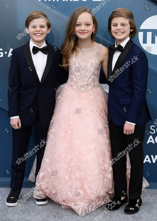 Cameron Crovetti, Ivy George and Nicholas Crovetti