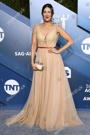 Editorial picture of 26th Annual Screen Actors Guild Awards, Arrivals, Shrine Auditorium, Los Angeles, USA - 19 Jan 2020