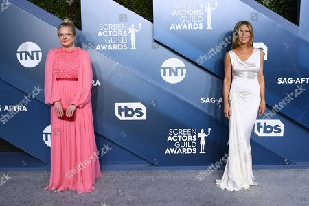 Elisabeth Moss and Jennifer Aniston