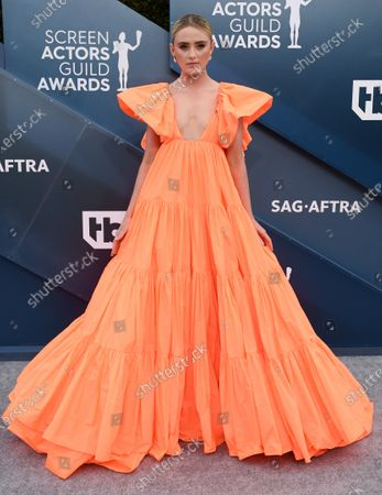 Editorial picture of 26th Annual Screen Actors Guild Awards, Arrivals, Fashion Highlights, Shrine Auditorium, Los Angeles, USA - 19 Jan 2020