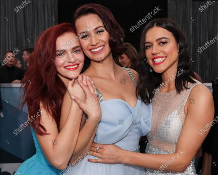 Madeline Brewer, Kristen Gutoskie and Nina Kiri