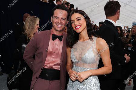 Andrew Scott and Nina Kiri