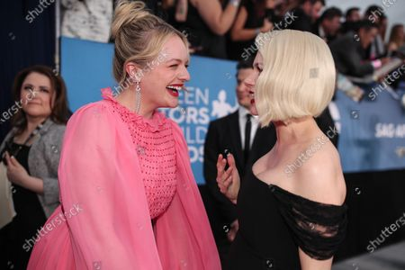 Elisabeth Moss and Michelle Williams