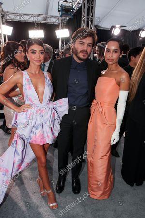 Sarah Hyland, Emile Hirsch and Zoe Kravitz