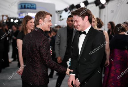 Alfie Allen and Charlie Heaton