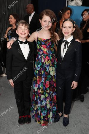 Iain Armitage, Darby Camp and Chloe Coleman