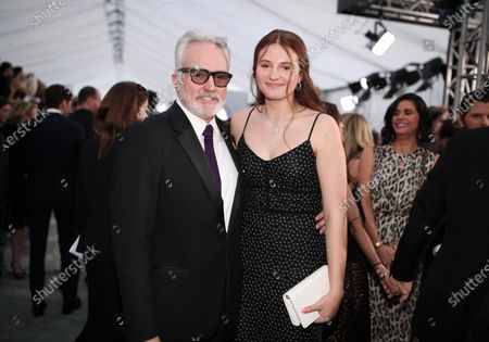 Stock Image of Bradley Whitford and Mary Louisa Whitford