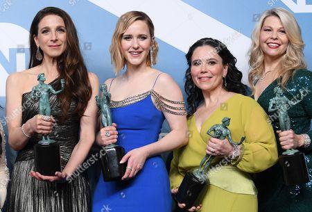 Marin Hinkle, Rachel Brosnahan, Alex Borstein and Matilda Szydagis - Outstanding Performance by an Ensemble in a Comedy Series - The Marvelous Mrs. Maisel