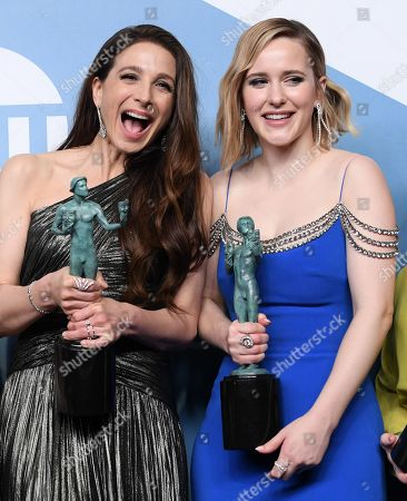 Marin Hinkle and Rachel Brosnahan - Outstanding Performance by an Ensemble in a Comedy Series - The Marvelous Mrs. Maisel