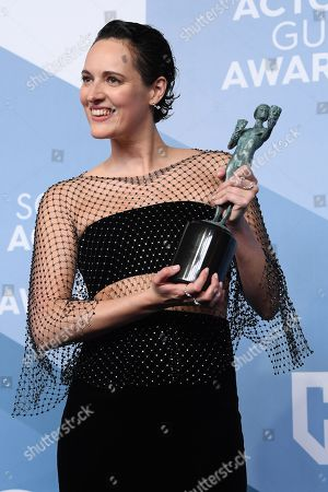 Editorial photo of 26th Annual Screen Actors Guild Awards, Press Room, Shrine Auditorium, Los Angeles, USA - 19 Jan 2020