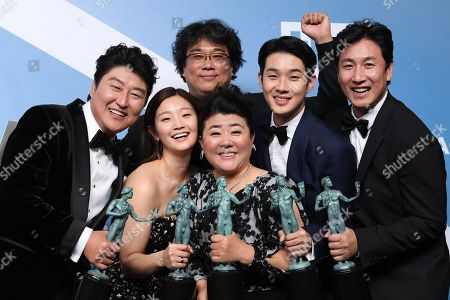 Editorial image of 26th Annual Screen Actors Guild Awards, Press Room, Shrine Auditorium, Los Angeles, USA - 19 Jan 2020