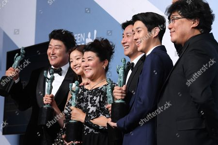 Editorial picture of 26th Annual Screen Actors Guild Awards, Press Room, Shrine Auditorium, Los Angeles, USA - 19 Jan 2020