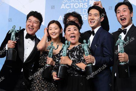 Editorial photo of 26th Annual Screen Actors Guild Awards, Press Room, Shrine Auditorium, Los Angeles, USA - 19 Jan 2020