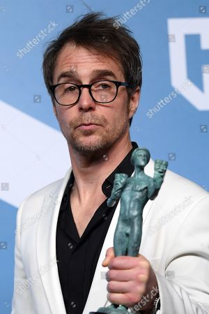 Stock Picture of Sam Rockwell - Outstanding Performance by a Male Actor in a Television Movie or Miniseries - Fosse/Verdon