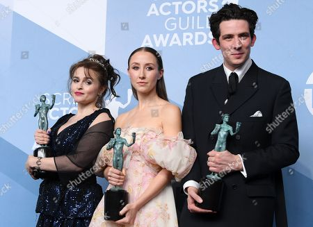 Helena Bonham Carter, Erin Doherty and Josh O'Connor - Outstanding Performance by an Ensemble in a Drama Series - The Crown