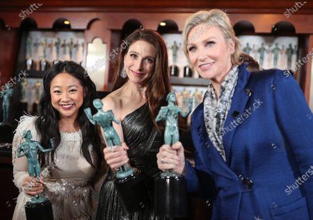 Stephanie Hsu, Marin Hinkle and Jane Lynch