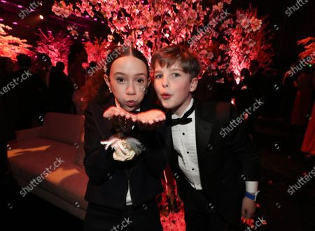 Chloe Coleman and Iain Armitage