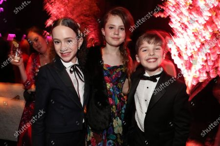 Chloe Coleman, Darby Camp and Iain Armitage