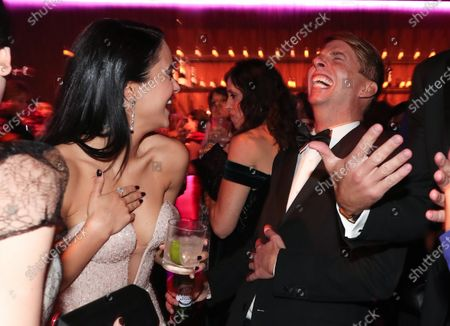 Stock Picture of Camila Mendes and Jack McBrayer