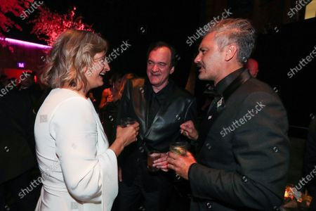 Zoe Bell, Quentin Tarantino and Taika Waititi