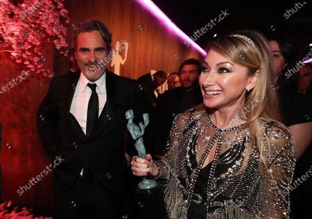 Joaquin Phoenix and Blair Rich