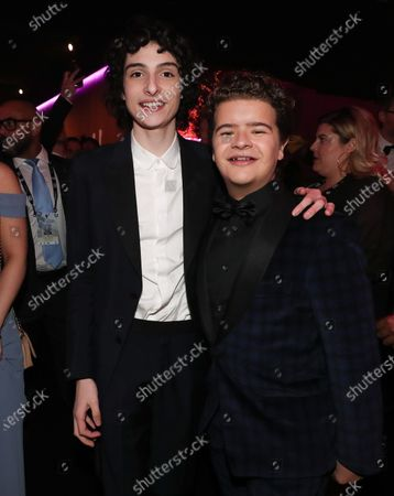 Finn Wolfhard and Gaten Matarazzo