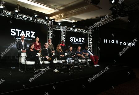 Editorial picture of 'HighTown' TV show, Starz TCA Winter Press Tour, Panels, Los Angeles, USA - 14 Jan 2020