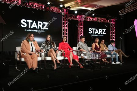 Tanya Saracho, Melissa Barrera, Mishel Prada, Ser Anzoategui, Chelsea Rendon, Carlos Miranda and Roberta Colindrez