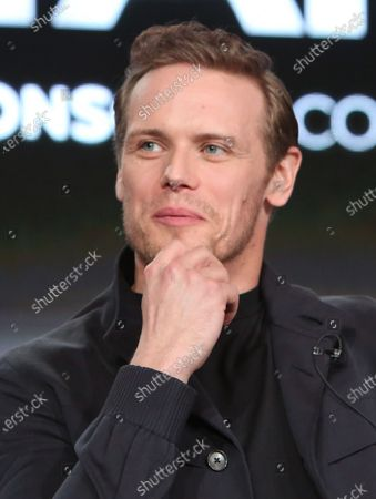 Editorial image of 'Outlander' TV show, Starz TCA Winter Press Tour, Panels, Los Angeles, USA  - 14 Jan 2020