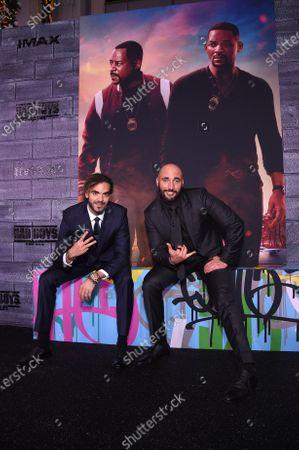 Adil El Arbi, Director, and Bilall Fallah, Director,