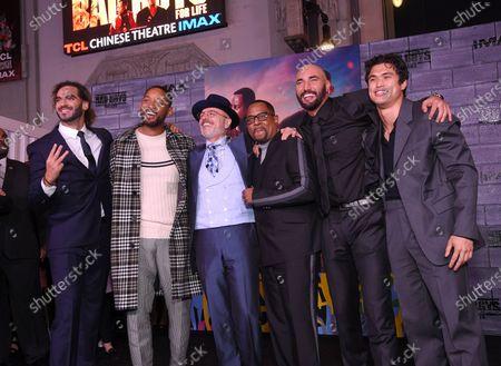 Adil El Arbi, Director, Will Smith, Joe Pantoliano, Martin Lawrence, Bilall Fallah, Director, and Charles Melton