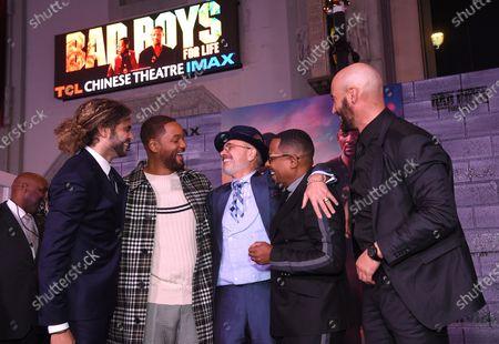 Adil El Arbi, Director, Will Smith, Joe Pantoliano, Martin Lawrence and Bilall Fallah, Director,