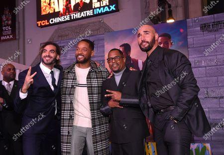 Adil El Arbi, Director, Will Smith, Martin Lawrence and Bilall Fallah, Director,
