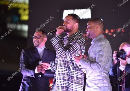 Martin Lawrence, Will Smith and King Bach