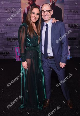 Stock Image of Kate Del Castillo and Doug Belgrad, Producer,