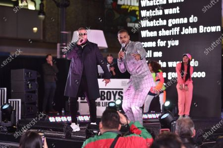 Nicky Jam and King Bach at the Los Angeles Premiere of Columbia Pictures BAD BOYS FOR LIFE.