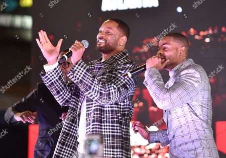 Stock Image of Will Smith and King Bach