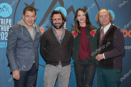 Dany Boon, Ludovic Colbeau-Justin, Anne Serra and Philippe Katerine