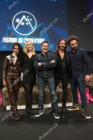 Sabrina Ouazani, Chloe Jouannet, Jose Garcia, Bob Sinclar and Nicolas Benamou