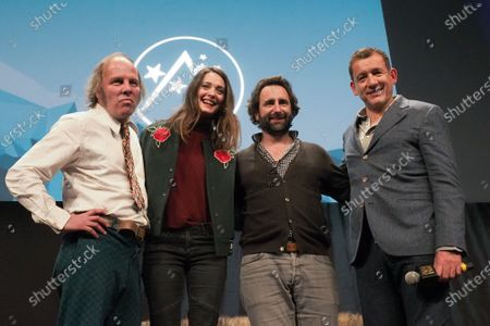 Philippe Katerine, Anne Serra, Ludovic Colbeau-Justin and Dany Boon